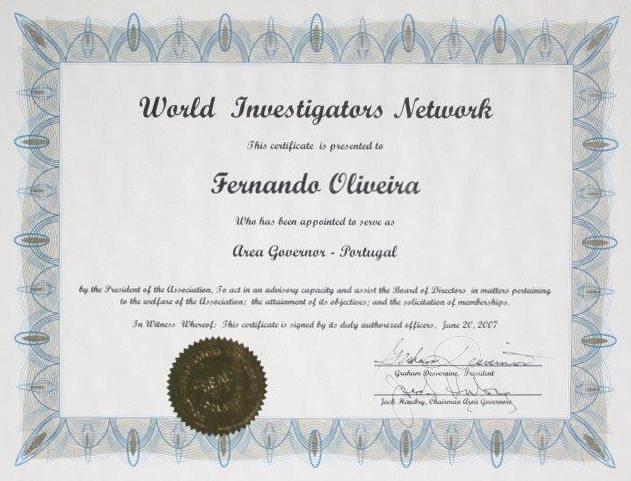 World-Investigators-Network-Area-governor