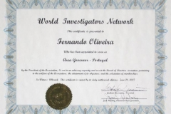 World-Investigators-Network-Area-governor