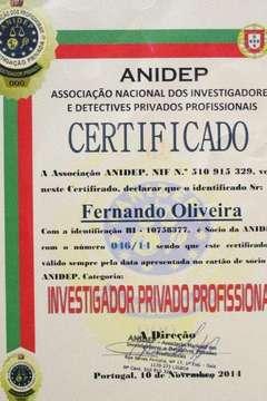 Certificado membro ANIDEP