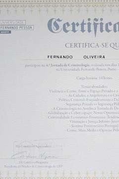 Universidade Fernando Pessoa - Jornadas de Criminologia